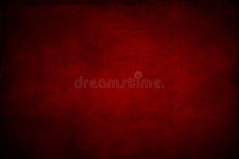 Κόκκινο κατασκευασμένο υπόβαθρο ελεύθερη απεικόνιση δικαιώματος