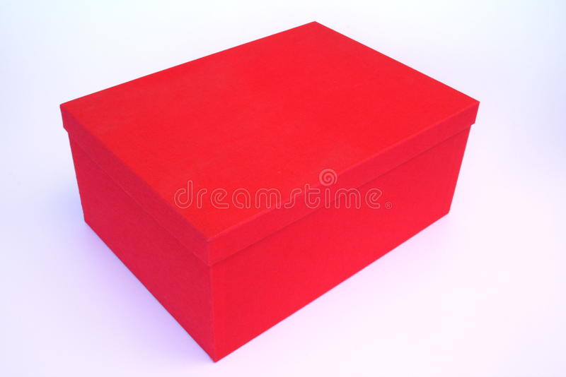 κόκκινο κιβωτίων στοκ εικόνα