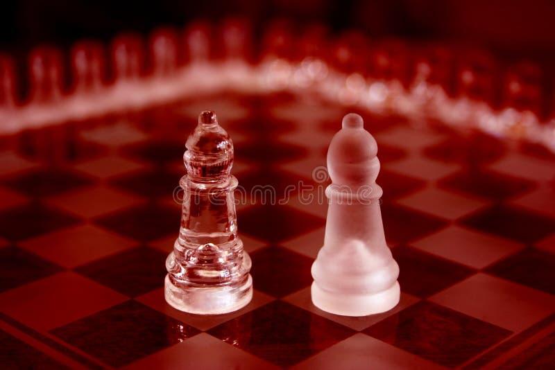κόκκινο κομματιών κρυστά&lambd στοκ φωτογραφία με δικαίωμα ελεύθερης χρήσης