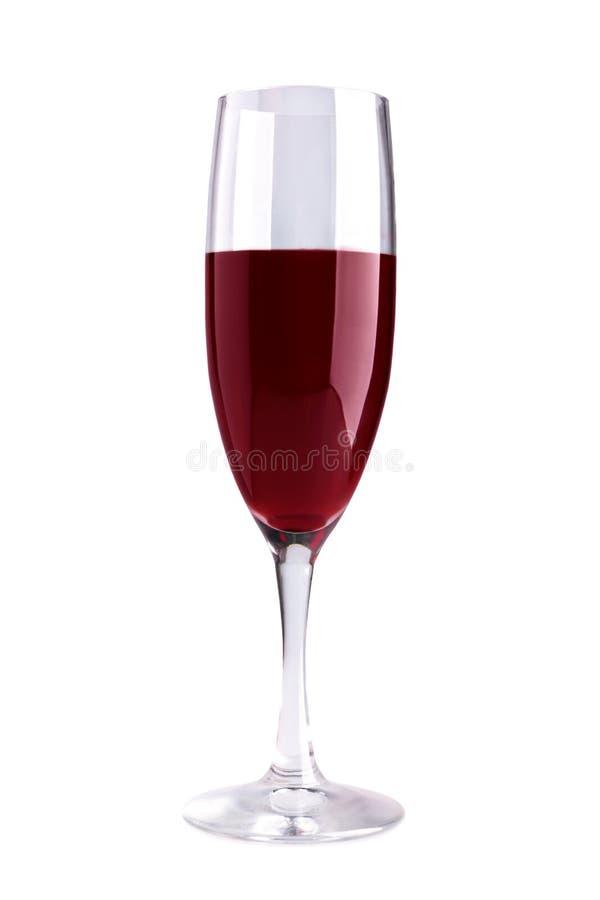 κόκκινο κρασί γυαλιού στοκ εικόνα