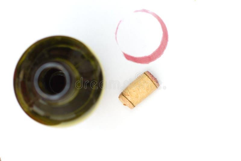 κόκκινο κρασί λεκέδων φε&l στοκ φωτογραφίες με δικαίωμα ελεύθερης χρήσης