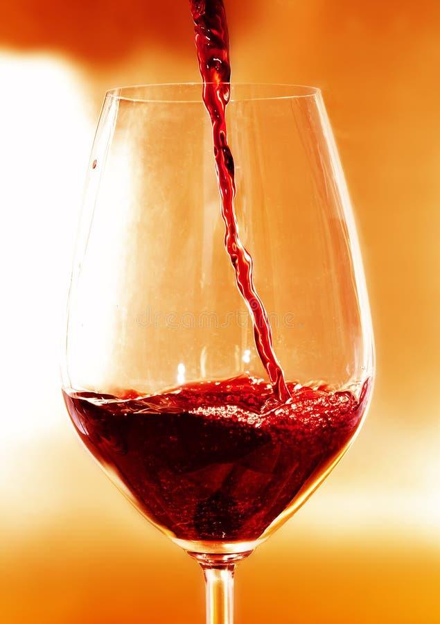 κόκκινο κρασί στοκ εικόνα με δικαίωμα ελεύθερης χρήσης