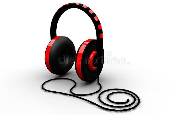 κόκκινο λευκό ακουστι&ka στοκ φωτογραφία με δικαίωμα ελεύθερης χρήσης
