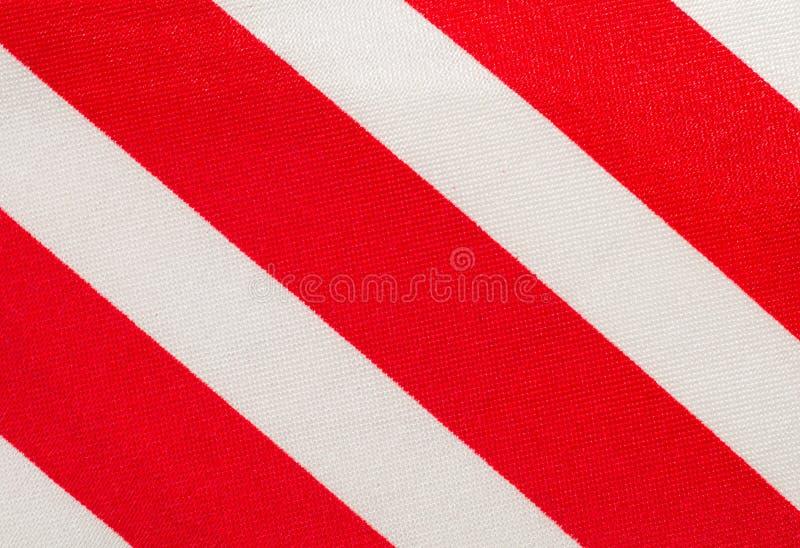 κόκκινο λευκό λουρίδων &u στοκ εικόνα