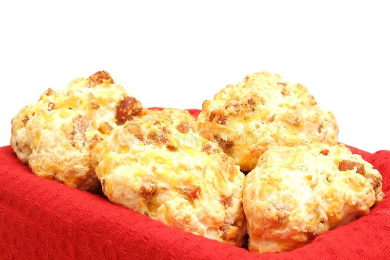 κόκκινο λουκάνικο μπισκότων γωνίας στοκ εικόνα με δικαίωμα ελεύθερης χρήσης