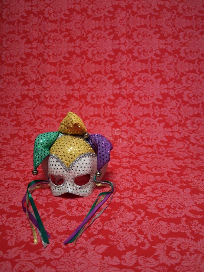 κόκκινο μασκών 2 καρναβάλι στοκ εικόνα με δικαίωμα ελεύθερης χρήσης