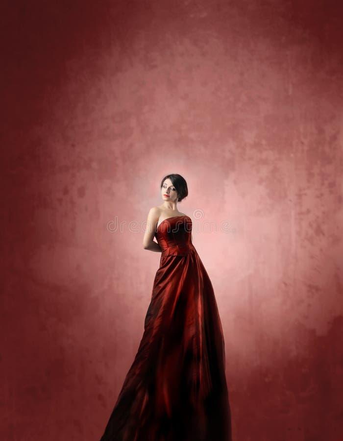 κόκκινο μόδας στοκ φωτογραφίες με δικαίωμα ελεύθερης χρήσης