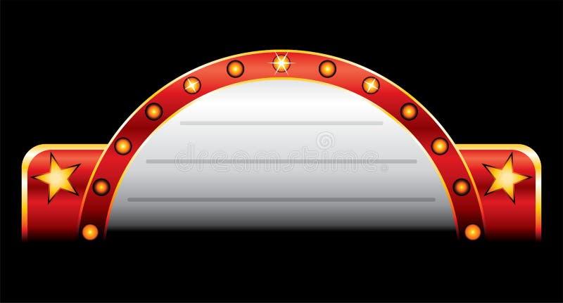 Κόκκινο νέο στοκ εικόνα με δικαίωμα ελεύθερης χρήσης