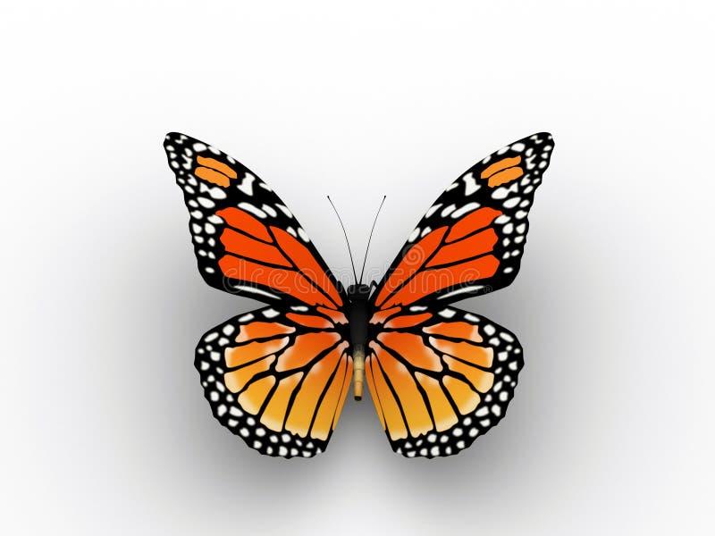 κόκκινο πεταλούδων ελεύθερη απεικόνιση δικαιώματος