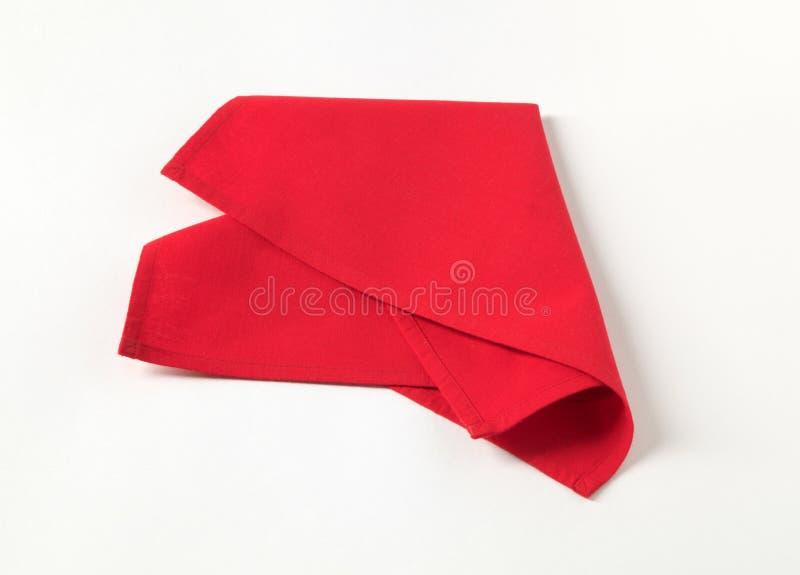 κόκκινο πετσετών στοκ φωτογραφία