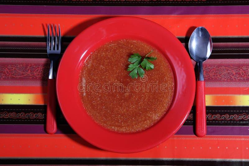 κόκκινο πιάτων στοκ εικόνα