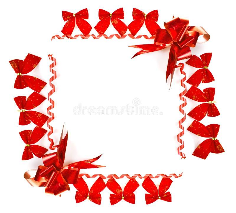 κόκκινο πλαισίων Χριστο&upsil στοκ φωτογραφία με δικαίωμα ελεύθερης χρήσης