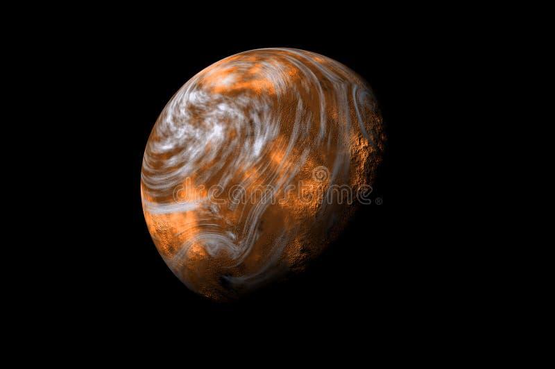 κόκκινο πλανητών ελεύθερη απεικόνιση δικαιώματος
