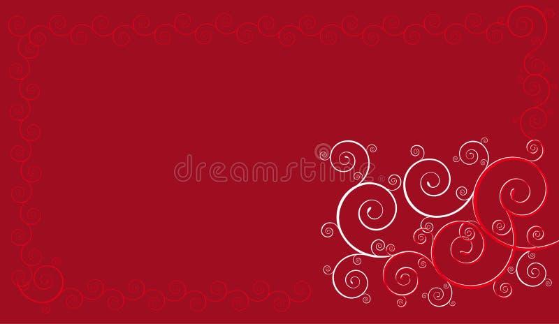 κόκκινο προτύπων διανυσματική απεικόνιση