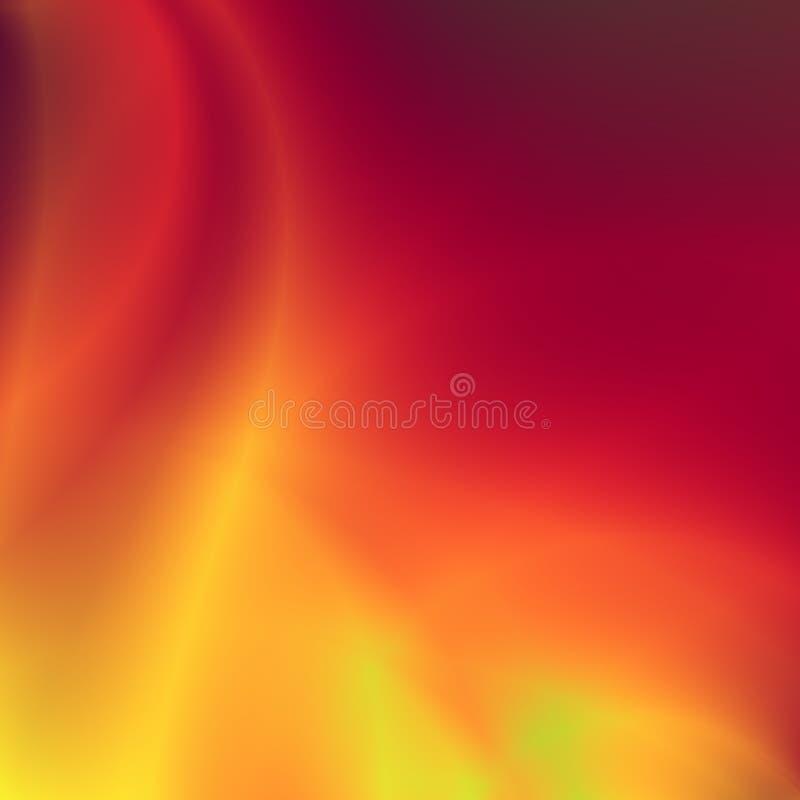 κόκκινο πυρκαγιάς σχεδί&omi απεικόνιση αποθεμάτων
