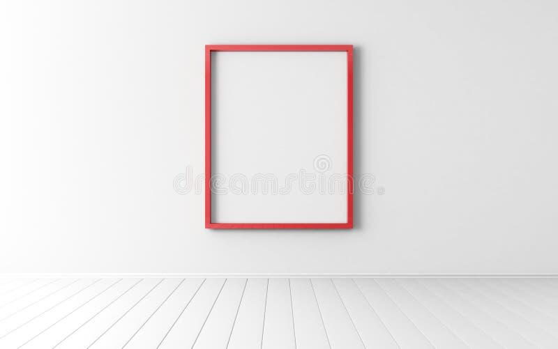 Κόκκινο πλαίσιο ελεύθερη απεικόνιση δικαιώματος