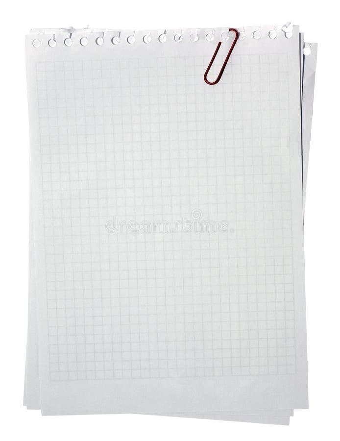 κόκκινο σελίδων σημειώσεων συνδετήρων που συσσωρεύεται στοκ εικόνες