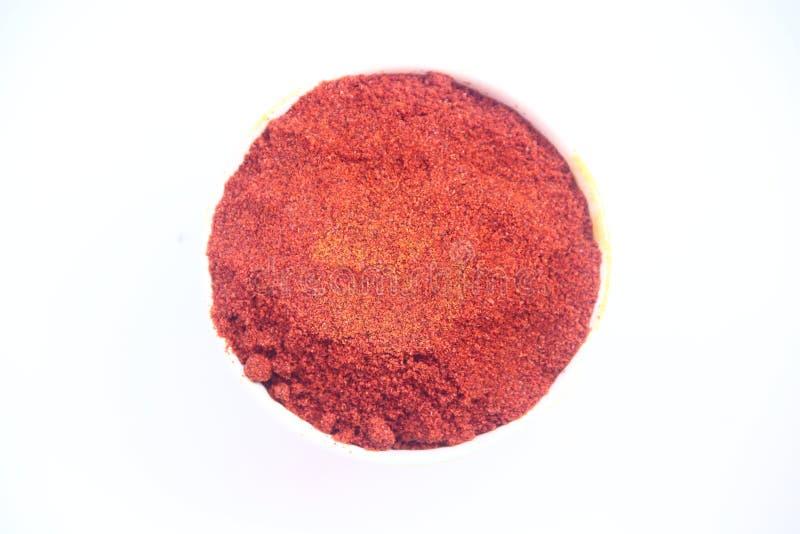κόκκινο σκονών τσίλι στοκ εικόνα με δικαίωμα ελεύθερης χρήσης