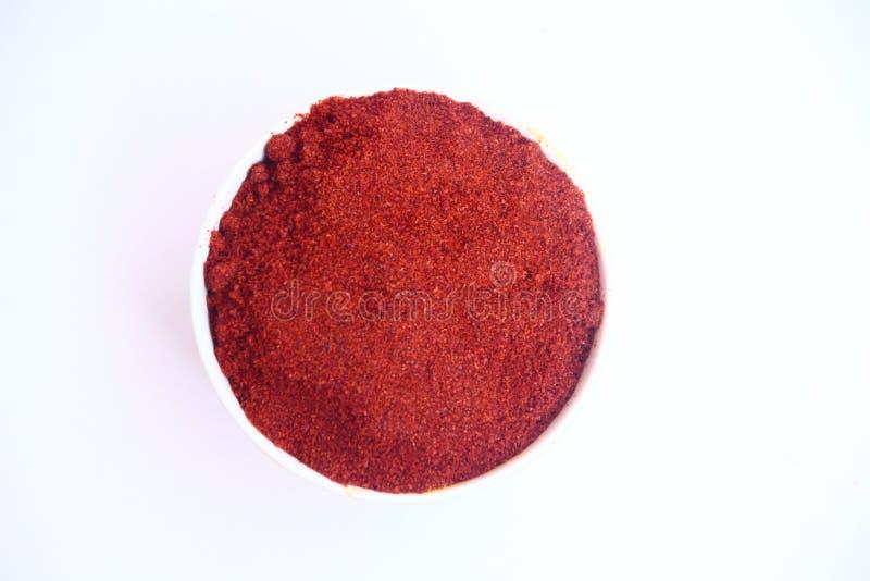 κόκκινο σκονών τσίλι στοκ φωτογραφία με δικαίωμα ελεύθερης χρήσης
