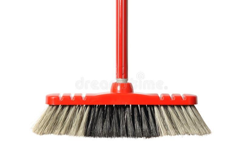κόκκινο σκουπών στοκ εικόνα