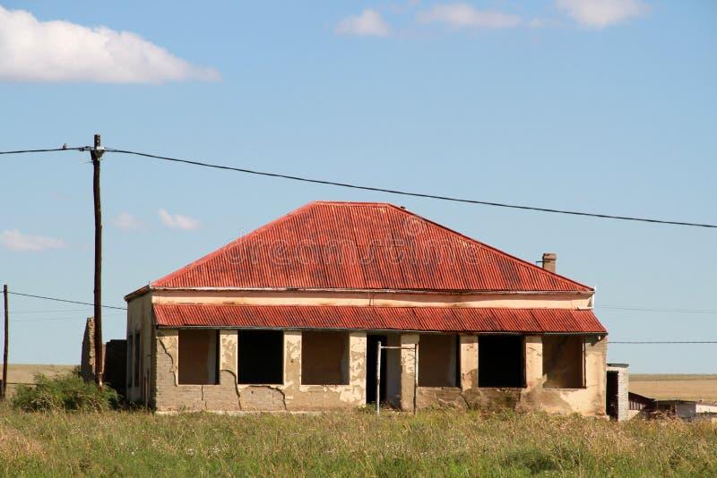 Κόκκινο σπίτι στεγών σε Edenvale στοκ φωτογραφίες με δικαίωμα ελεύθερης χρήσης