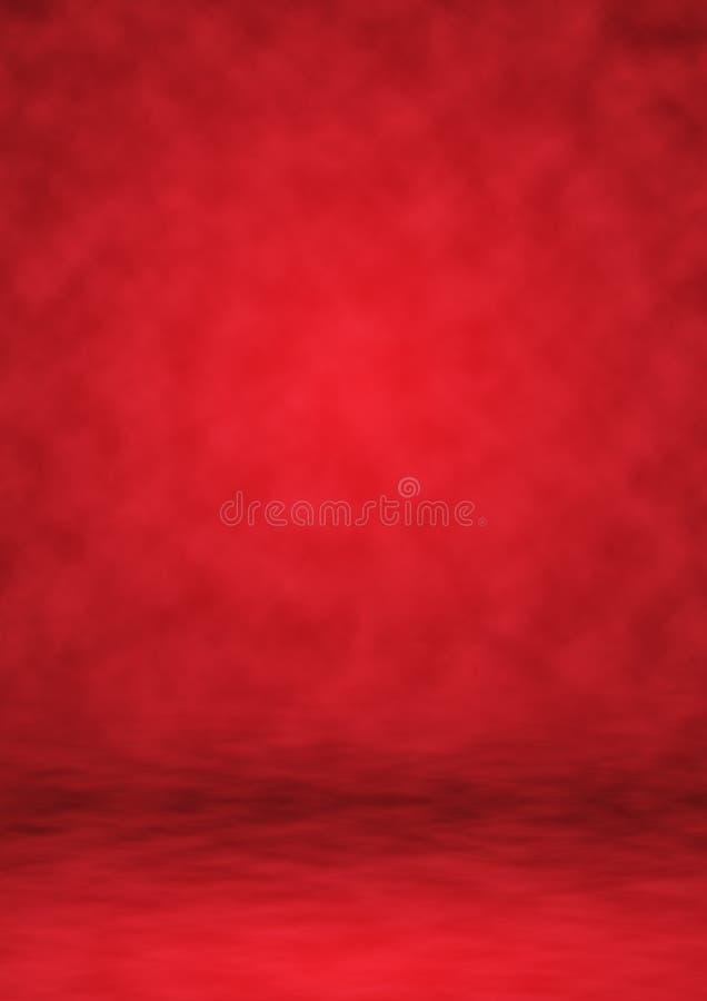Κόκκινο στούντιο υποβάθρου σκηνικού, αφηρημένο υπόβαθρο στοκ εικόνες με δικαίωμα ελεύθερης χρήσης