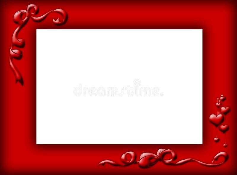κόκκινο συνόρων στοκ εικόνα με δικαίωμα ελεύθερης χρήσης