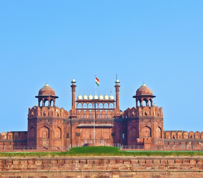 Download κόκκινο της Ινδίας οχυρών του Δελχί Στοκ Εικόνες - εικόνα από βρετανικοί, ορόσημο: 22793530