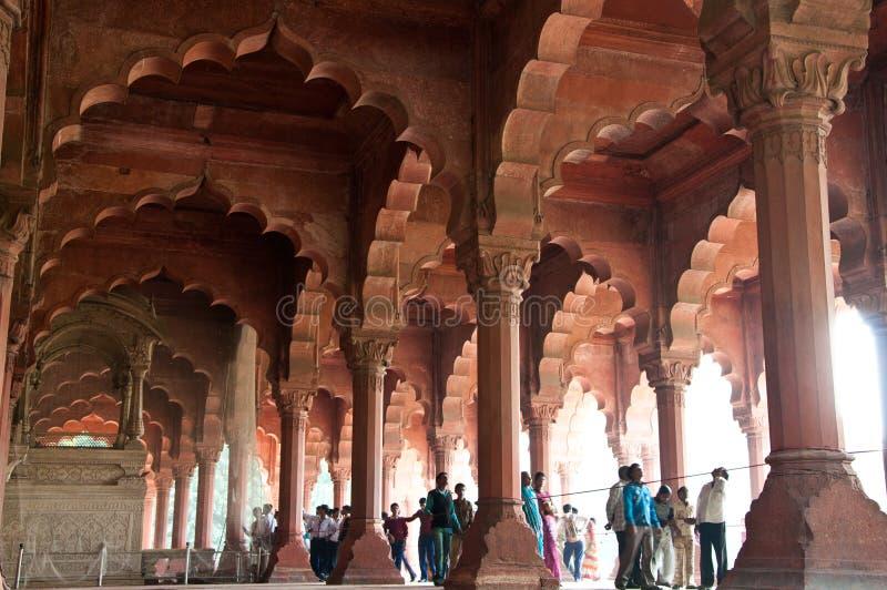 κόκκινο της Ινδίας οχυρών  στοκ εικόνα