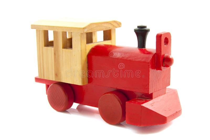 κόκκινο τραίνο παιχνιδιών στοκ φωτογραφία με δικαίωμα ελεύθερης χρήσης