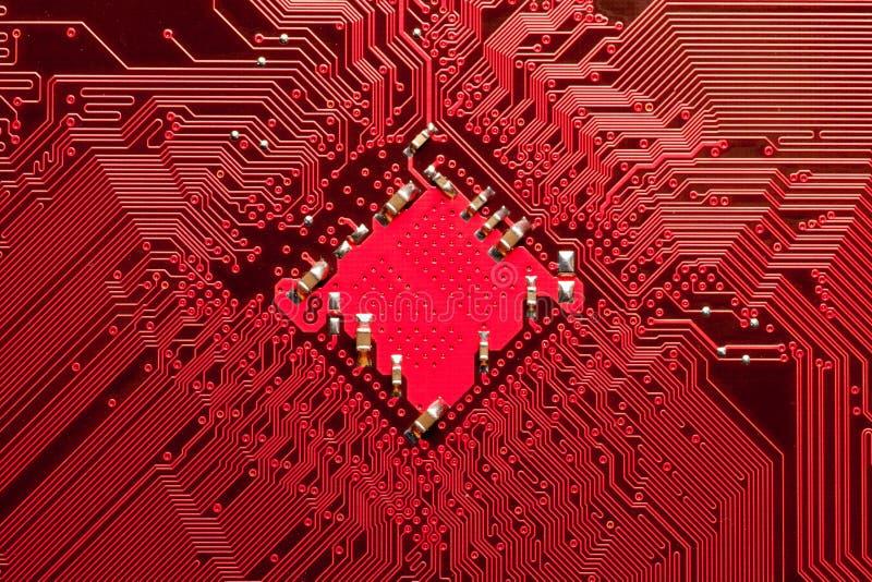 κόκκινο υπολογιστών κιν& στοκ εικόνα με δικαίωμα ελεύθερης χρήσης