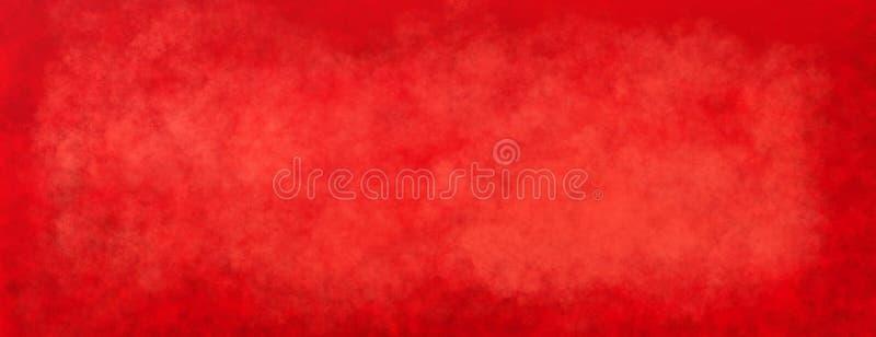 Κόκκινο υπόβαθρο Χριστουγέννων με την εκλεκτής ποιότητας σύσταση, το παλαιό κατασκευασμένο έγγραφο ή τον τοίχο στοκ εικόνες