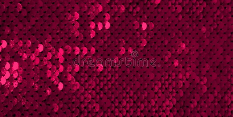 Κόκκινο υπόβαθρο Glamor με τα τσέκια στοκ φωτογραφίες