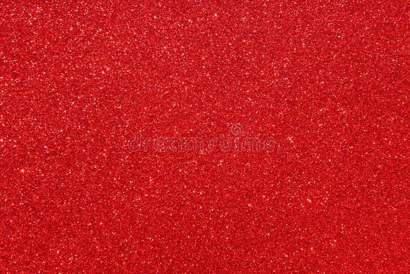 Κόκκινο υπόβαθρο glittery στοκ εικόνα