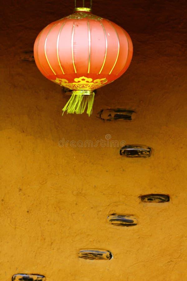 Κόκκινο φανάρι στο κινεζικό νέο φεστιβάλ έτους στοκ εικόνες