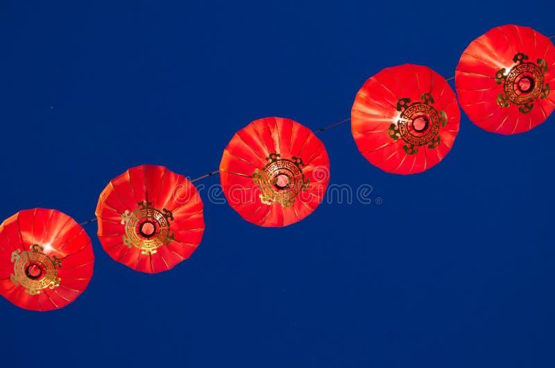 Κόκκινος-φανάρια στοκ φωτογραφίες