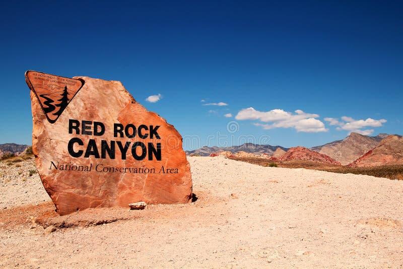 Κόκκινο φαράγγι βράχου στοκ φωτογραφίες