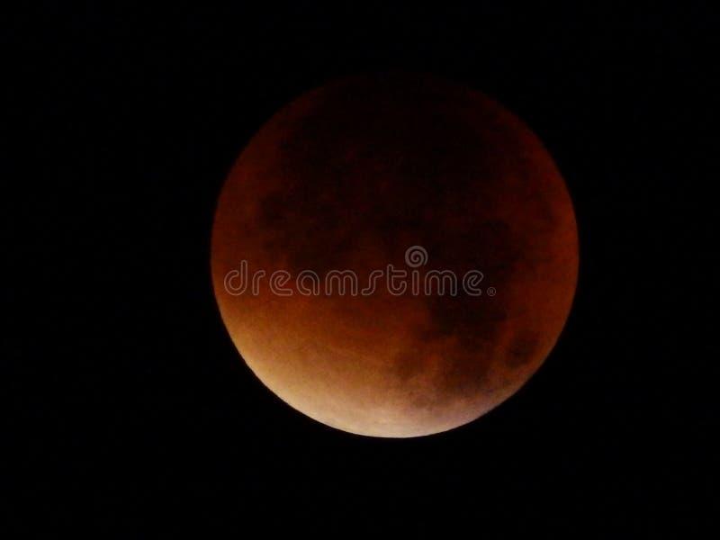 Κόκκινο φεγγάρι στοκ φωτογραφίες