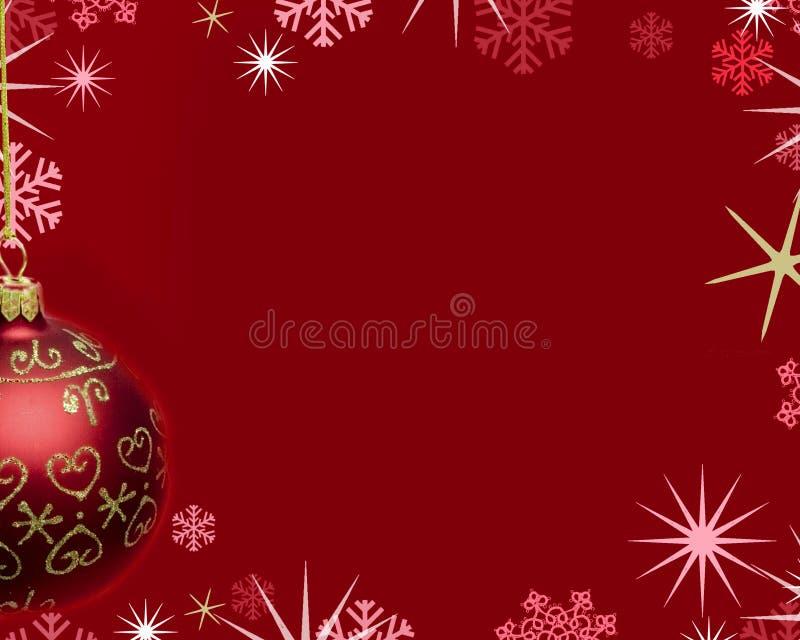 κόκκινο Χριστουγέννων ανασκόπησης απεικόνιση αποθεμάτων