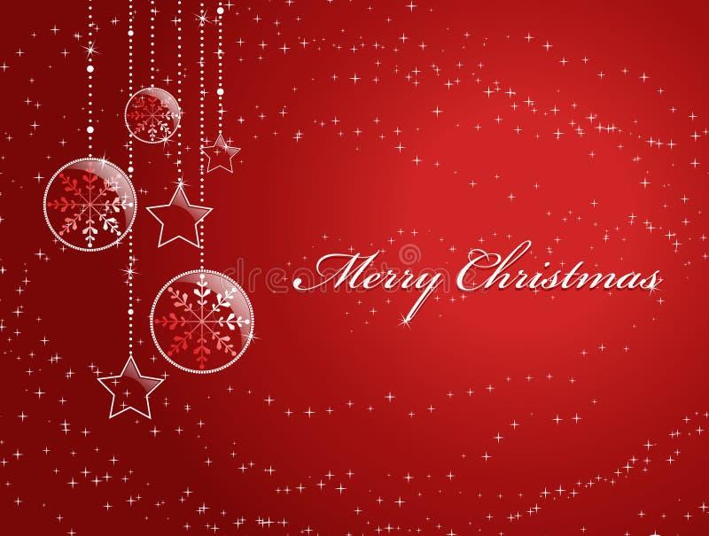 κόκκινο Χριστουγέννων αν&al απεικόνιση αποθεμάτων