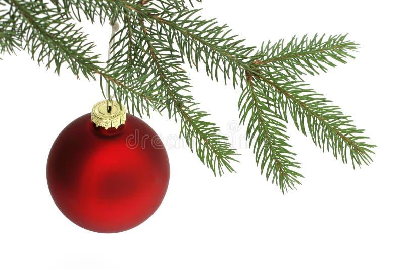 Download κόκκινο Χριστουγέννων σφαιρών Στοκ Εικόνα - εικόνα από brampton, ανασκόπησης: 396525