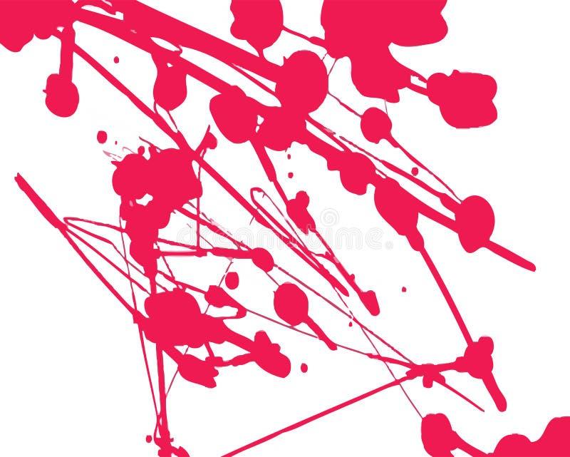 κόκκινο χρωμάτων που κατα απεικόνιση αποθεμάτων