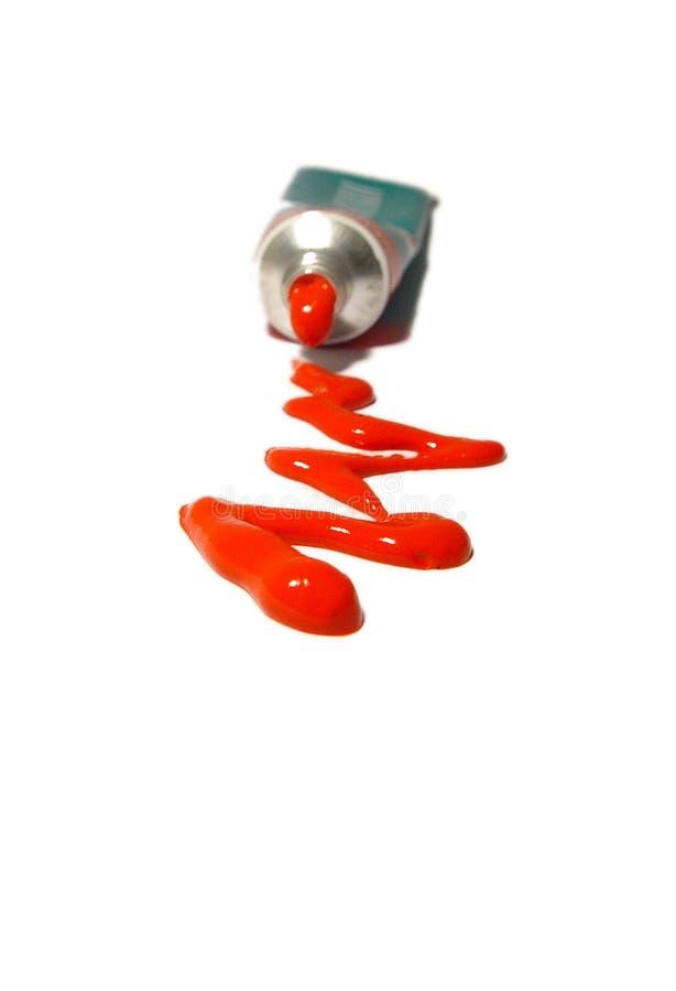 κόκκινο χρωμάτων στοκ εικόνες με δικαίωμα ελεύθερης χρήσης