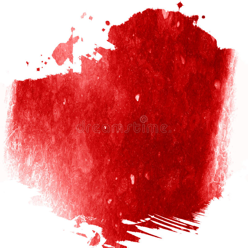 Κόκκινο χρώμα διανυσματική απεικόνιση