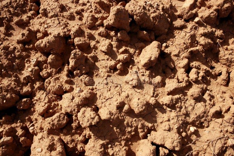 κόκκινο χώμα αργίλου γεω στοκ εικόνες με δικαίωμα ελεύθερης χρήσης