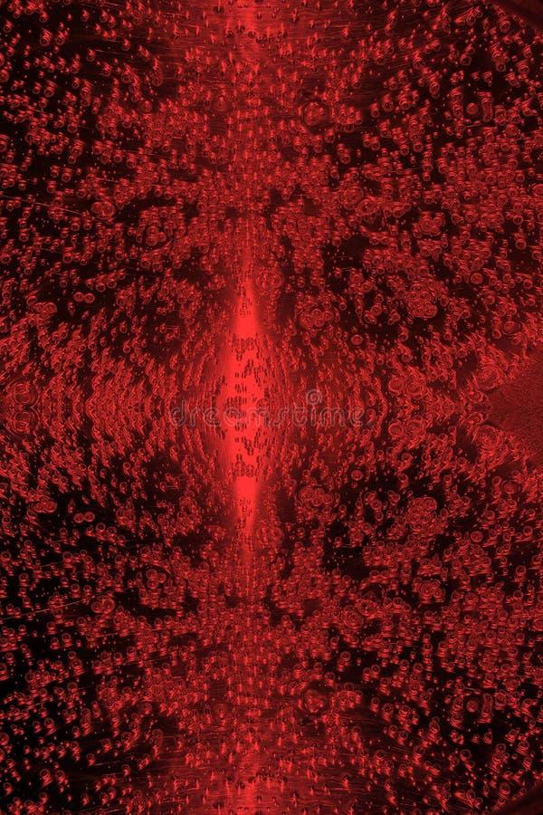 κόκκινο ύδωρ σύστασης απελευθέρωσης διανυσματική απεικόνιση