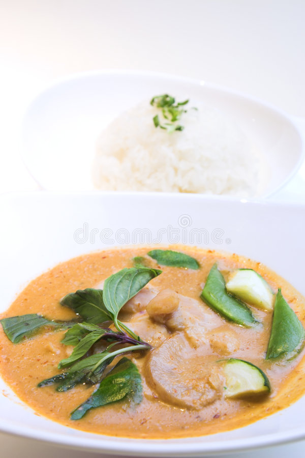 κόκκινο ύφος Ταϊλανδός κάρ&r στοκ φωτογραφία