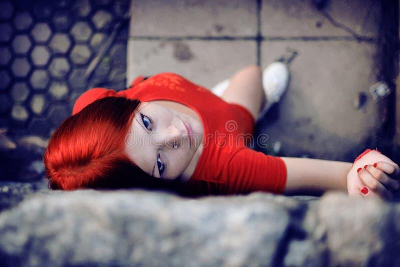 Κόκκινο ύφος στοκ φωτογραφίες με δικαίωμα ελεύθερης χρήσης