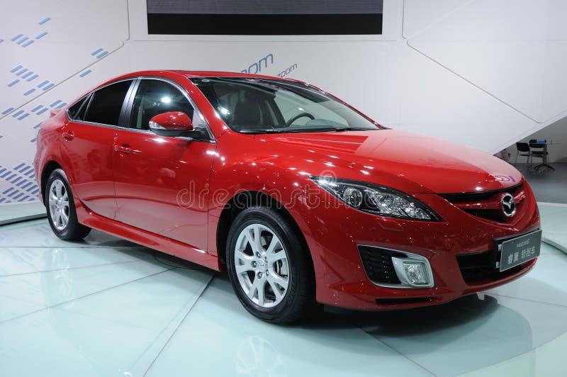 κόκκινο 6 Mazda στοκ εικόνες