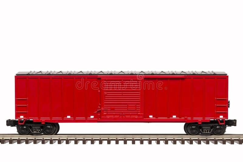 Κόκκινο Boxcar στοκ φωτογραφίες